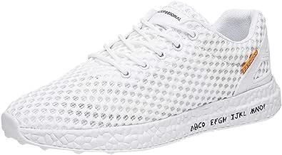 Bluestercool Fashion Uomo Scarpe Breathable Mesh Llight Non-Slip Sneakers Scarpe da Corsa Scarpe Running