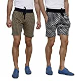 Crux&hunter men's cotton 2 Pair shorts