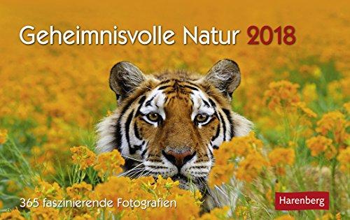 Geheimnisvolle Natur - Premiumkalender 2018 - Harenberg-Verlag - Tageskalender mit 365 faszinierenden Fotografien - Pro Tag eine Seite - 23 cm x 17 cm - Tischkalender (Seite 365 Tag Am)