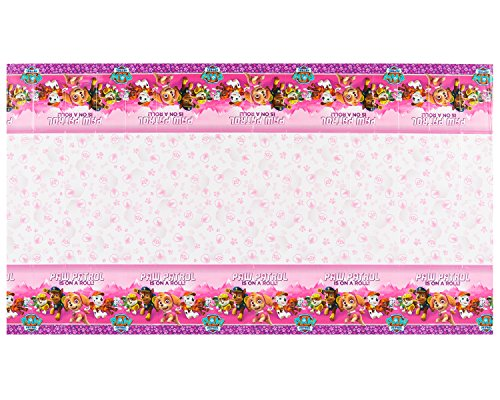 Amscan International 571665 1.37 X 2,43 m Paw Patrol Kunststoff Tisch Cover