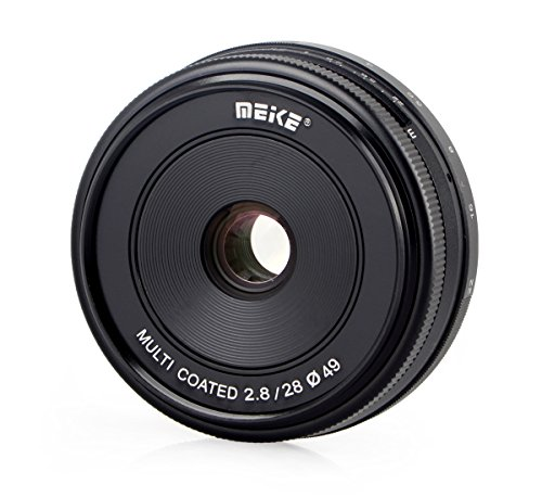 Meike 28mm F2.8Objectif pour Canon EOS M, Multicouches–P