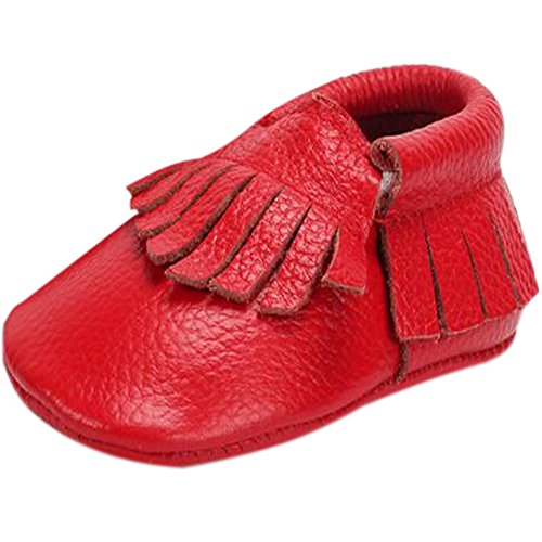 Frog Genuine Leather Mädchen Lauflernschuhe Shoes Baby Rot Fire 6wqdRapSp