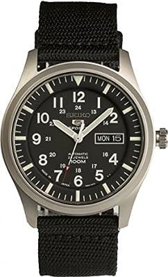 Seiko De los hombres Watch 5 SPORTS JAPAN Reloj SNZG15J1