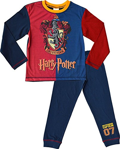 Harry Potter Pyjamas Gryffindor Captain 07 Pjs Ages 6 to 12 Years