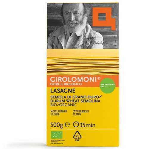 Gino Girolomoni - Lasagne Di Semola Di Grano Duro Bio Girolomoni