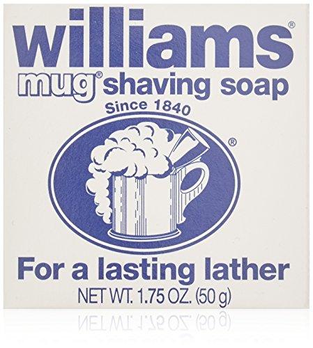 Williams Mug Shaving Soap - 1.75 Oz (Pack of 6 ) by Williams BEAUTY by Williams Mug