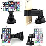 Best GENERIC Car Phone Holders - 360 Degree adjustable One Mount Windscreen/Windsheild/DashBoard One H Review