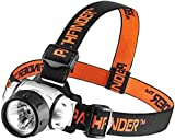 PATHFINDER 21 LED Headlamp Headlight Head Torch - Lightweight, Comfortable and Weatherproof Flash Light/Torch - Water Resistant Safety Head Lamp - 4 User-Friendly Modes of Operation - Garage Workshop Garden Head lamp, Head Torch for Biking, Cycling, Climbing, Camping, Dog Walking, Hiking, Fishing, Night Reading, Riding, Running and other Outdoor and Indoor Activities - Adjustable Head Strap - 135 Degrees Adjustable Beam Angle - 100,000 Hours LED lifetime (in RETAIL PACKAGING) (SIILVER)