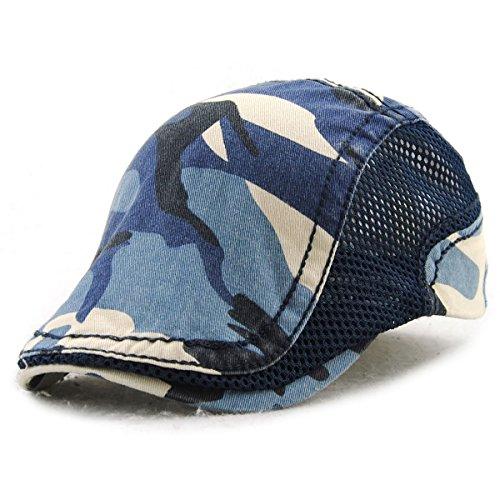 nisex Mütze Stickerei Tioamy Damen Herren Mütze Flatcap Sportmütze Newsboy Cap Beret Cap Cabbie Cap (X Männer Weibliche Charaktere)