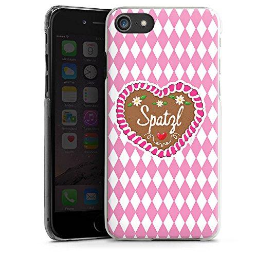 Apple iPhone 6s Silikon Hülle Case Schutzhülle Oktoberfest Spatzl Lebkuchenherz Hard Case transparent