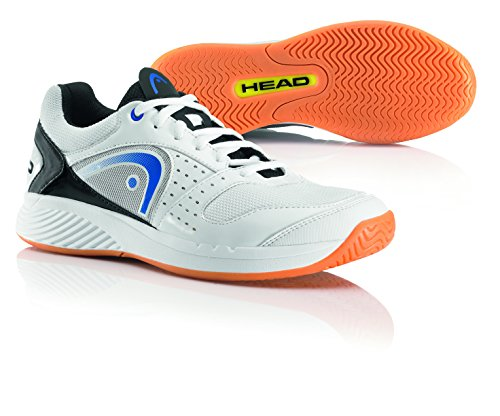 Head Sprint Team, Scarpe da Squash Uomo, Bianco (White/Blue/Black Whbb), 46.5 EU