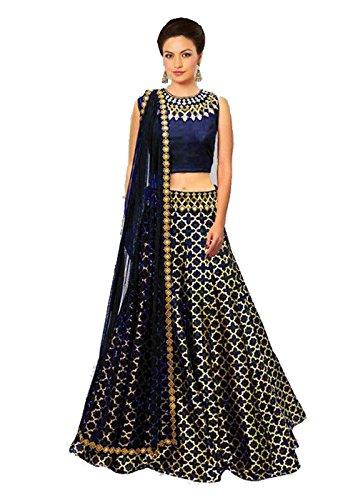FebForrest Women\'s Multi Banglory Workwear Lahenga Choli [SL 33(FF_A960)]
