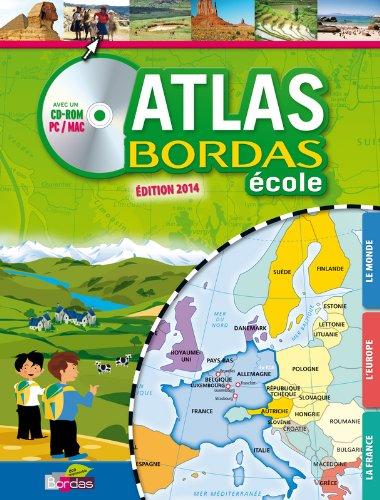 ATLAS BORDAS ECOLE + CD - GP