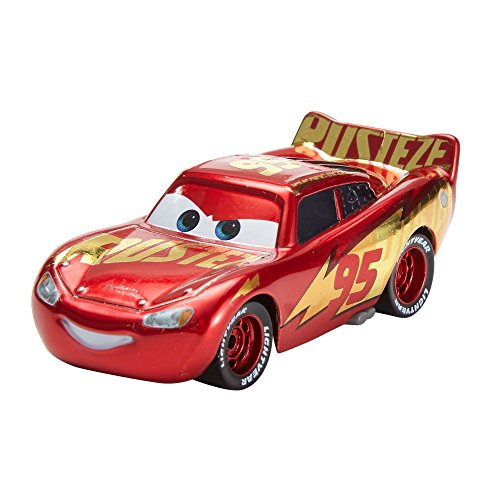 Cars 3 - Coche Flash McQueen - jcoches juguetes - (Mattel DXV45)