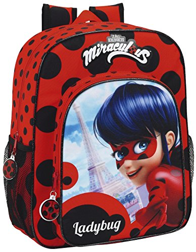 Imagen de safta lady bug  escolar, 38 cm, multicolor alternativa