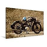 Premium Textil-Leinwand 120 x 80 cm Quer-Format Zündapp DB 200 | Wandbild, HD-Bild auf Keilrahmen, Fertigbild auf hochwertigem Vlies, Leinwanddruck von Ingo Laue (CALVENDO Mobilitaet)