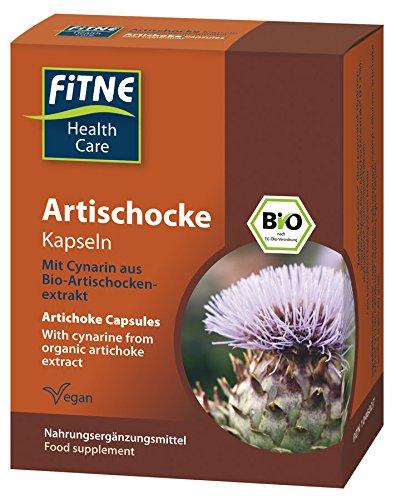 fitné Bio Artischocke Kapseln 60 Stk