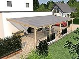 Terrassenüberdachung RÜGEN IV Wintergarten 1000 x 400cm Überdachung Terrasse