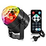 CARO Disco Lichteffekte LED Party Lampe Musikgesteuert Christmas Party Licht Beleuchtung Discolicht