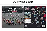MOTO GP OFFICIAL 2017 CALENDRIER + MOTO GP AIMANT DE RÉFRIGÉRATEUR
