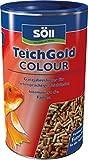 Söll  18800 Teich-Gold Colour-Sticks - Alleinfuttermittel für alle Teichfische - schwimmfähige Teichsticks, 1er Pack (1 x 1 l)