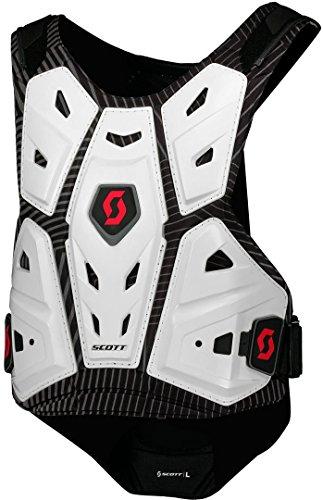 Scott Commander 2 Body Armor MX Motocross Brust- / Rückenpanzer weiß/schwarz 2018: Größe: M