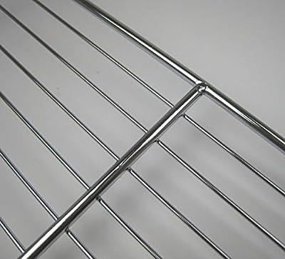 Grillrost 40x60 cm Grill Rost verchromt stabil
