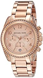 Michael Kors Analog Rose Gold Dial Womens Watch - MK5263I
