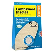Profoot Lambswool Insoles - Genuine Lambs Wool Insole - 2 Pairs