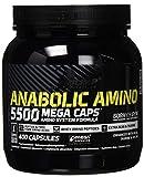 Olimp Anabolic Amino 5500 Mega Caps | Aminosäuren | 66 Portionen | 400 Kapseln, 1er Pack (1 x 464 g Dose)