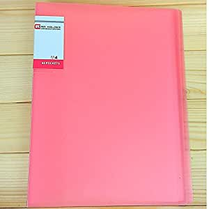 Btopllc B5 Transparent Brochure Piano dossier Insertion clip 20 Pages