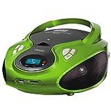 Lauson CP433 CD-Radio mit CD MP3 USB Player SD-Card Reader Tragbares Kinder Radio Boombox tragbarer CD Player