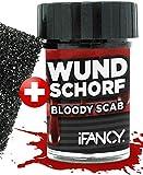 ifancy Sangue d'Escara Spugnetta per Creare Ferite Realistiche - Incrostazioni di Sangue Finto Makeup Halloween Trucco da Spaventare Gel di Sangue Artificiale