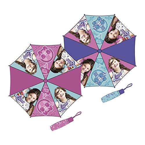 Soy Luna WD11553 Klassisch Regenschirm (Juegos Violetta De)