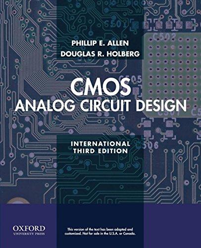 CMOS Analog Circuit Design Cmos Analog Switch