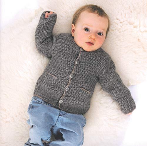 Rico Trachten Babyjanker zum selbermachen Baby Jacke Gr. 62/68 Strickpaket