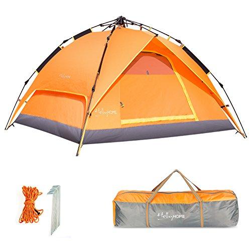 Hollyhome 3–4persona pop up Backpacing tenda da campeggio con borsa per il...