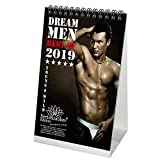 Dream Men Calendrier de table Premium 2019 – DIN A5 – Hommes – Man · Hero – Shades of Sex – Coffret cadeau avec 1 carte de vœux et 1 carte de vœux – Edition Seelenzauber