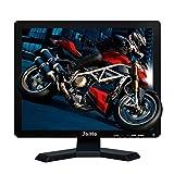 JaiHo Monitor LCD da 19 pollici Risoluzione 1280x1024 Schermo 4: 3 FHD 1080P HD Video Audio Display HDMI BNC VGA AV USB In / OutG1 Auricolare per PC Camera DVR CCTV