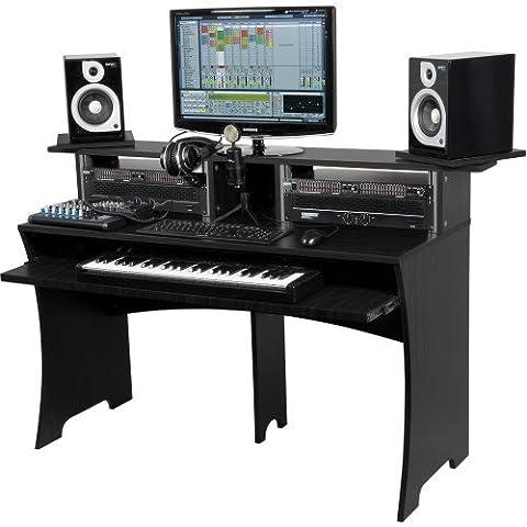 GLORIOUS DJ BLACK WORKBENCH Home studio accessories Studio Rack & Tables