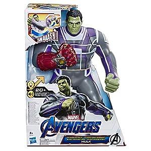 Avengers Marvel Figura de Marvel Endame Electronica - Hulk - 36 cm - Juguete