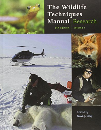 The Wildlife Techniques Manual: Research / Management: 2-vol. set