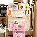 Lustiger Karikatur-Design-Sitz-Schutz für Auto, Sitz-Zurück-Speicher-Organisator-Tasche,...