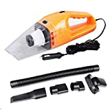 RISHIL WORLD 12V 120W Mini Handheld Vacuum Cleaner Useful in-Car Portable Wet & Dry Car Home Single Item.
