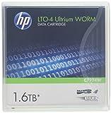 HP Original LTO4 Datenbandkassette Ultrium 1,6 TB WORM