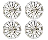 #9: Premium Quality Car Full Caps Silver 14inches Wheel Cover For - Toyota Qualis