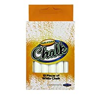 White Chalks, Box of 12, by World of Colour