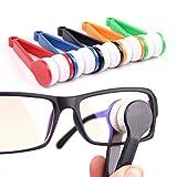 #5: Generic 2PCS Microfiber Eyeglass Sunglasses Cleaner Sun Glasses Glass Cleaner Spectacles
