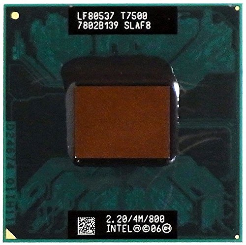 CPU / Prozessor Core 2 Duo Mobile 2,2GHz T7500 LF80537 7502B139 SLAF8 ID13403 -