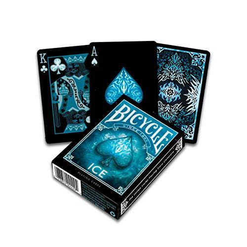 Bicycle 1040830 Ice Kartenspiel für Sammler, Blau